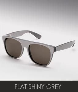 Super Flat Grey sunglases