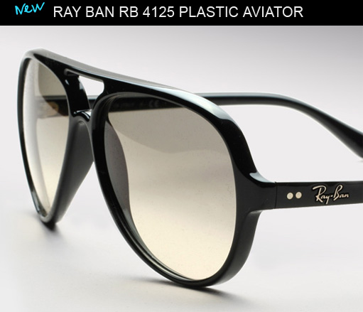 ray ban glasses kkgw  Ray Ban RB 4125 aviator sunglasses