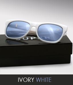 Super Ivory White Sunglasses