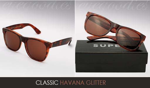 Super Basic Shape Havana Glitter