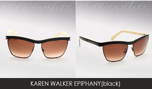 karen walker epiphany sunglasses black