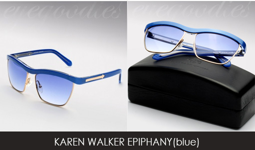 karen walker epiphany sunglasses blue