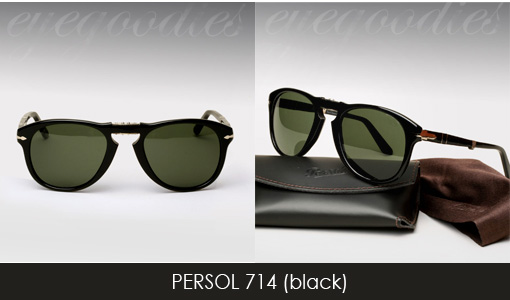 Persol 714 sunglasses black