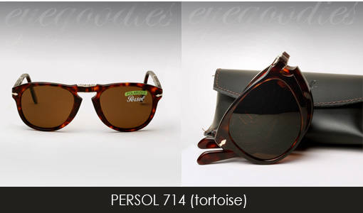 Persol 714 sunglasses tortoise