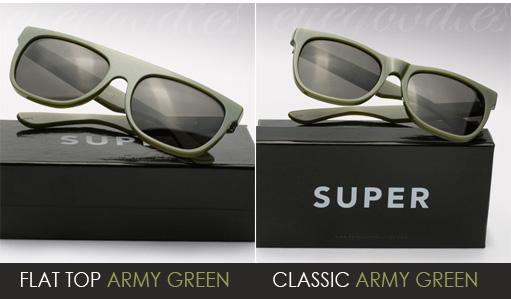 super army green-sunglasses