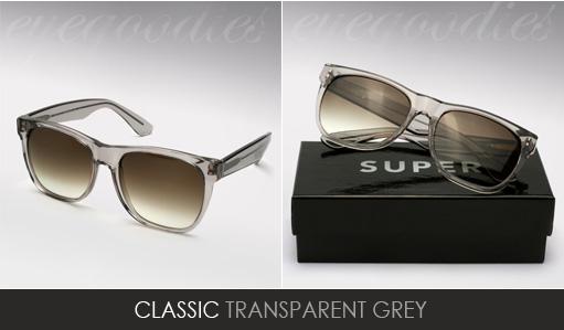 Super Basic Shape Grey sunglasses