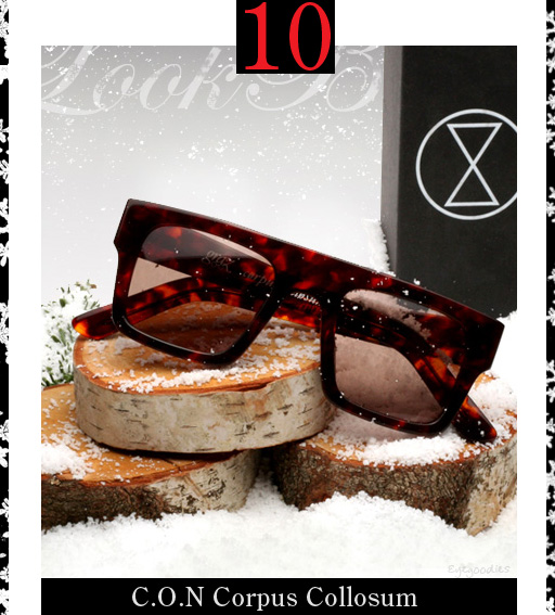 10. Chronicles of Never corpus Collosum Sunglasses
