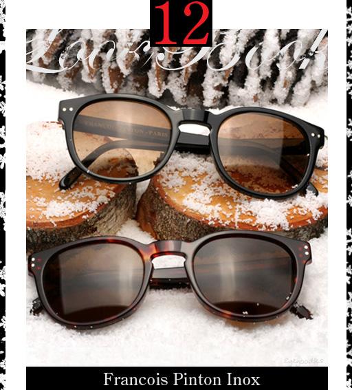 12. Francois Pinton Inox Sunglasses