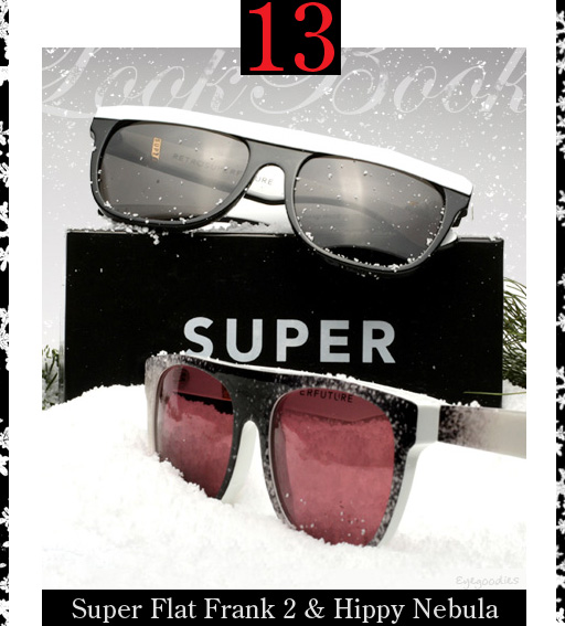 13. Super Flat Frank & Hippy Nebula Sunglasses