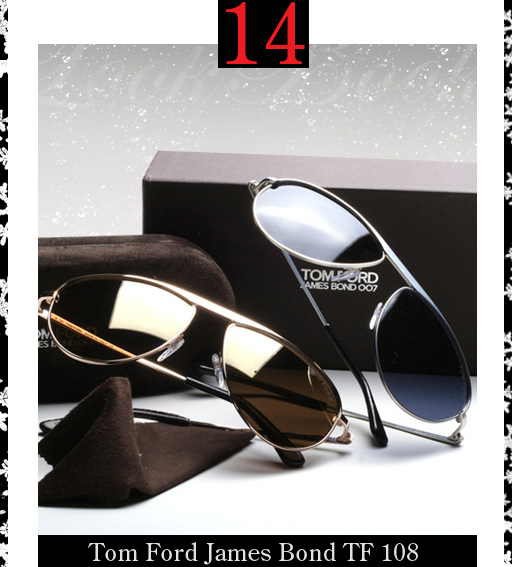 14. Tom Ford James Bond Sunglasses