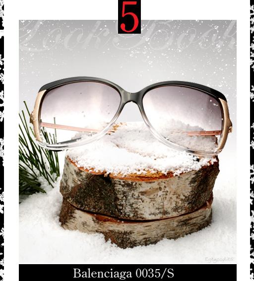 5. Balenciaga 0035 Sunglasses