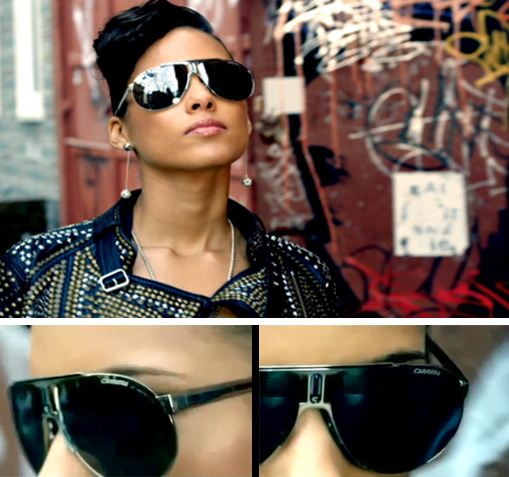 Alicia Keys Carrera Sunglasses