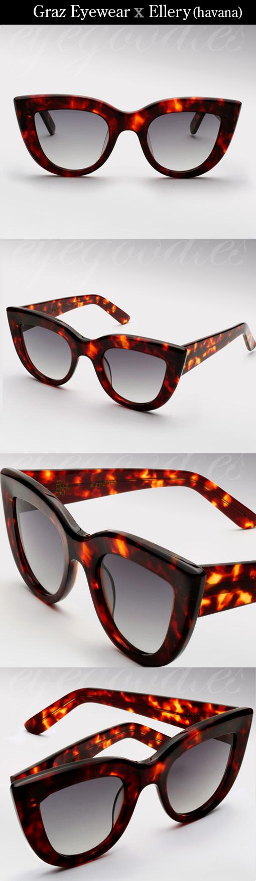 Graz Ellery sunglasses in havana
