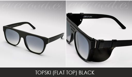 Super topski Black sunglasses