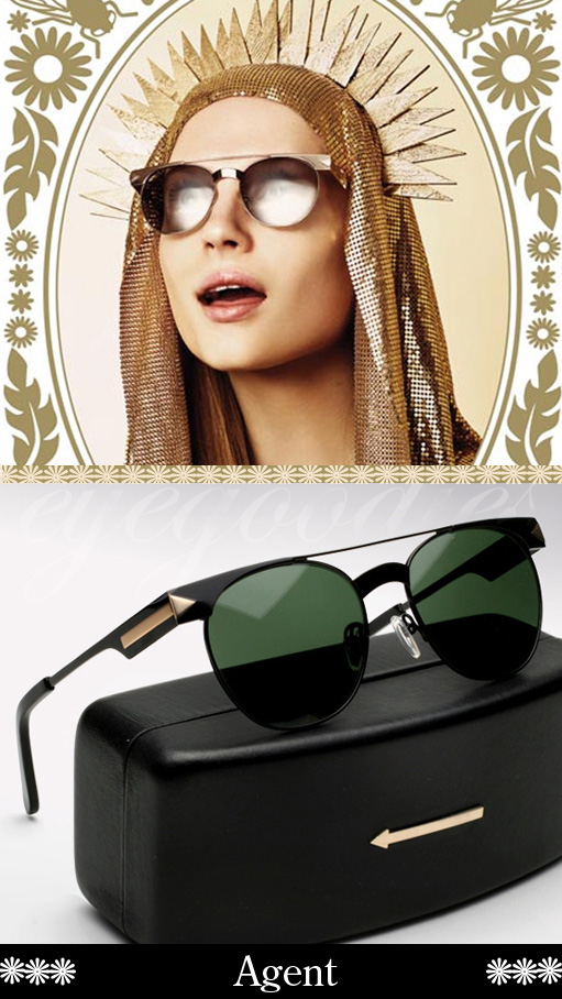 karen walker agent sunglasses