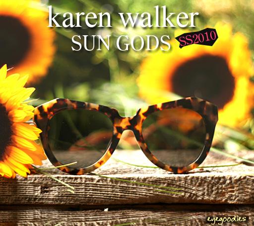karenwalker sunglasses Sun Gods