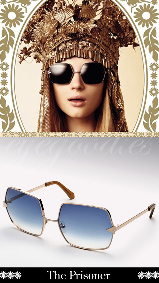 karen walker the prisoner sunglasses