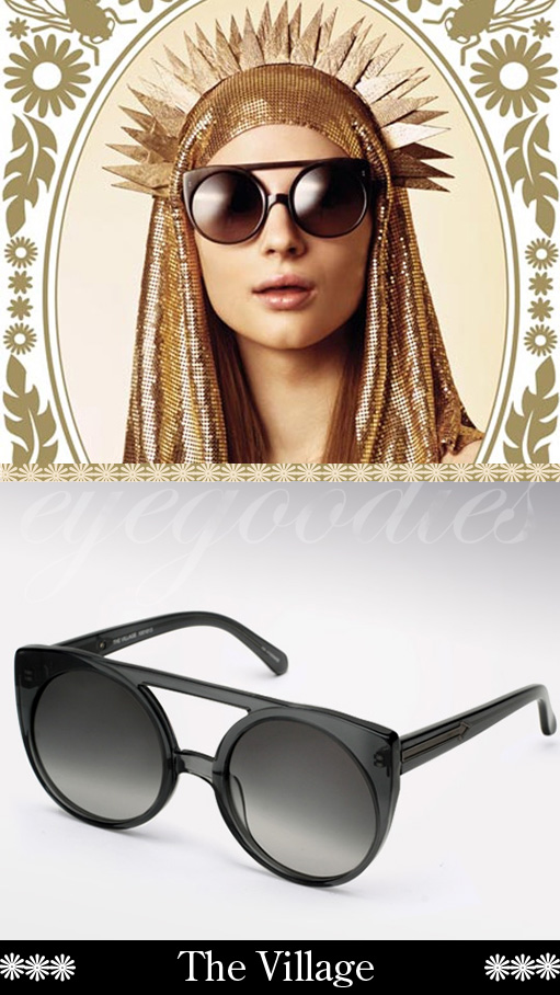 karen walker the village sunglasses