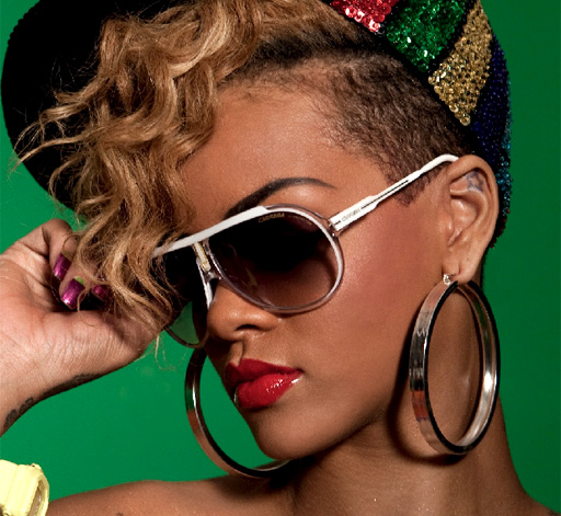 Rihanna Carrera sunglasses