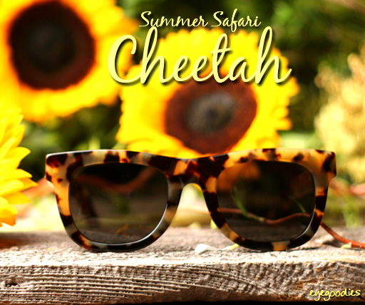 super summer safari cheetah sunglasses
