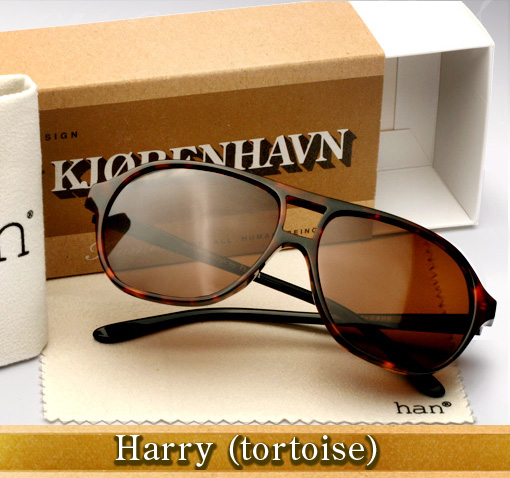 Han Harry sunglasses in tortoise