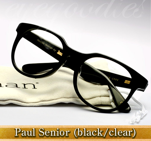 Han Paul Senior eyeglasses in black