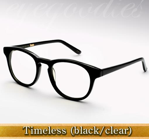 Han Timeless eyeglasses in black