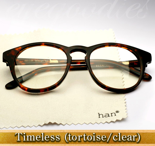 Han Timeless eyeglasses in tortoise