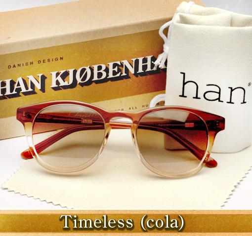 Han Timeless sunglasses in Cola