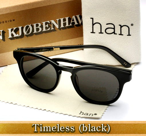 Han Timeless sunglasses in black