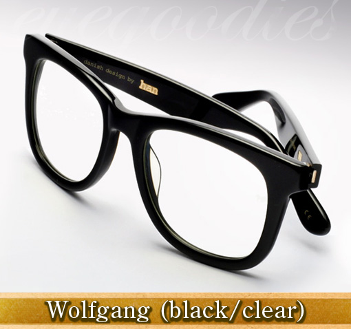 Han Wolfgang eyeglasses in black