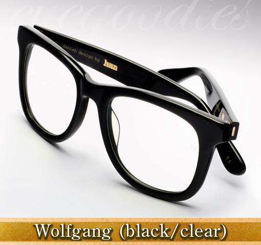 Han Wolfgang eyeglasses in black