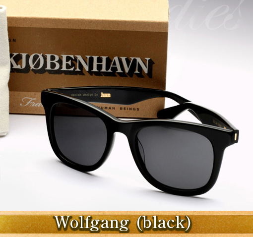 Han Wolfgang sunglasses in black
