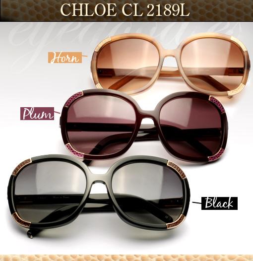 Chloe 2189 Leather Sunglasses