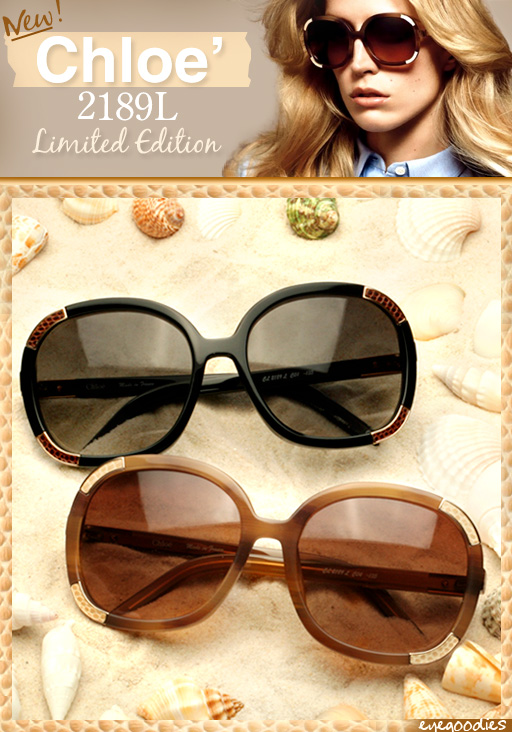 4a8f32db3059 Chloe CL 2189L Sunglasses