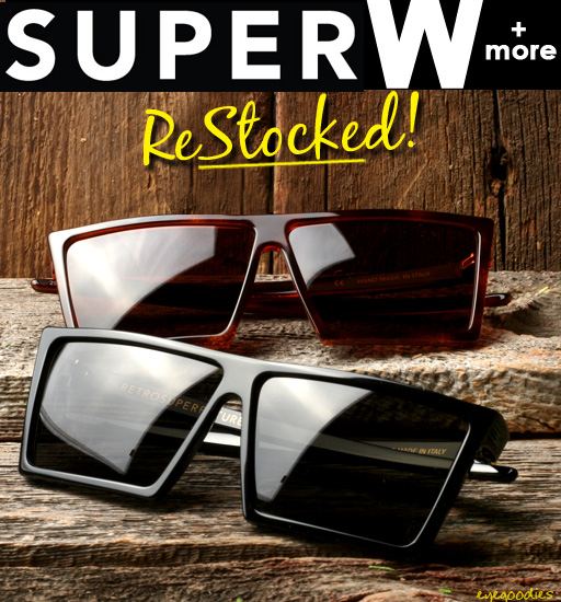 Super W Sunglasses Restock