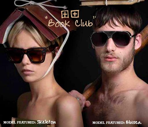 Ksubi Sunglasses Book Club SS 2010