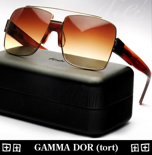 Ksubi Gamma Dor sunglasses in tortoise