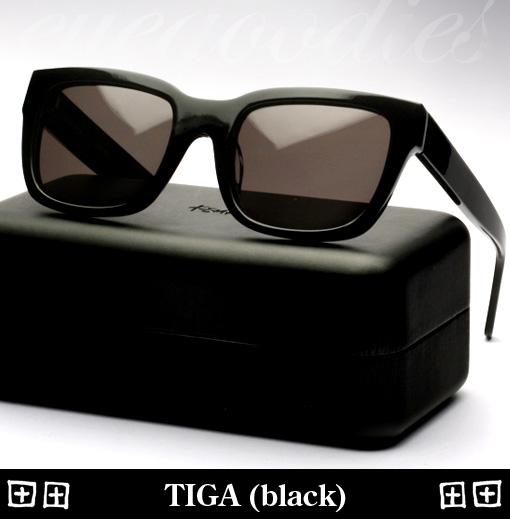 Ksubi Tiga sunglasses black
