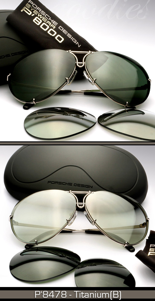 Aviator Porsche Design Sunglasses Model P8510a Louisiana