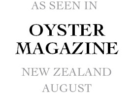 As seen in Oyster Magazine