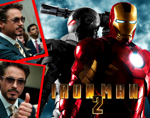 Initium Iron Man 2 All In Sunglasses