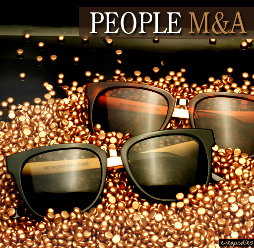 Super People sunglasses metal and acetate 1