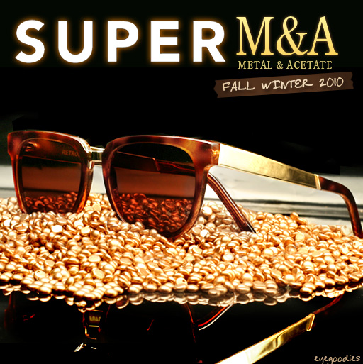 Super Sunglasses Fall Winter 2010 M&A