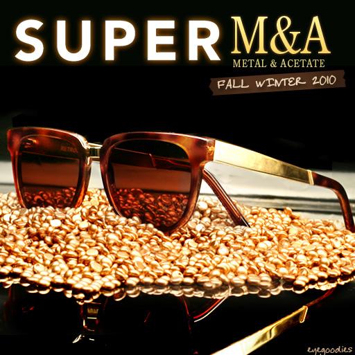 Super Sunglasses Fall Winter 2010 M&A