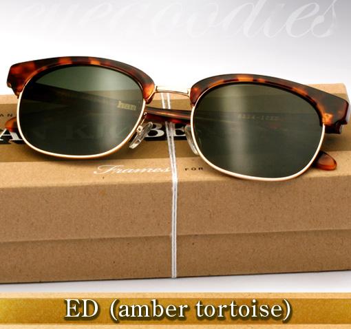 Han Ed Sunglasses in Amber Tortoise