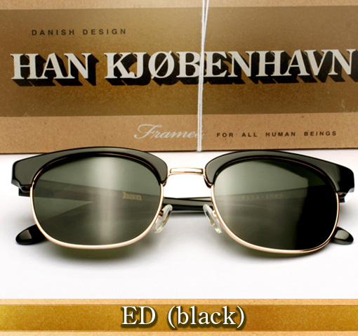 Han Ed Sunglasses in Black