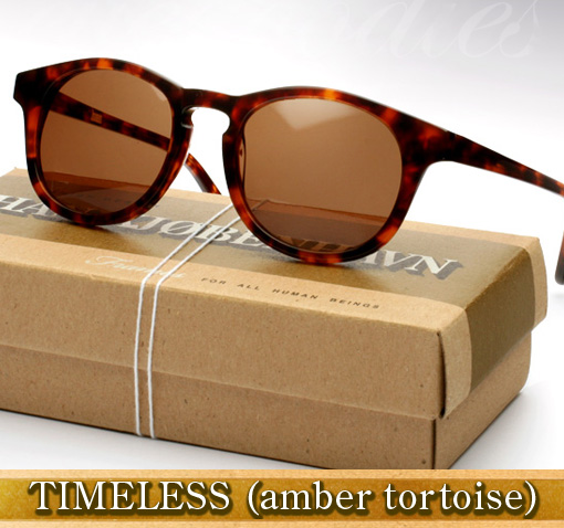 Han Timeless Sunglasses in Amber Tortoise
