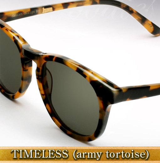 Han Timeless Sunglasses in Army Tortoise