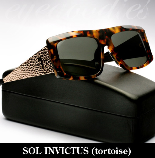 Karen Walker Sol Invictus Tortoise sunglasses